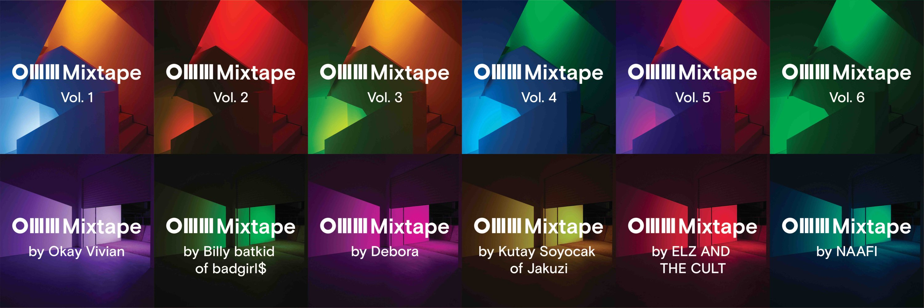 The playlists compiled by the museum team are available on OMM Mixtapes Spotify.