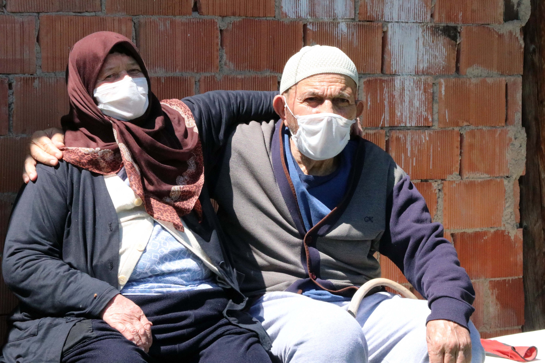 Sare and Osman Duru. (AA Photo)