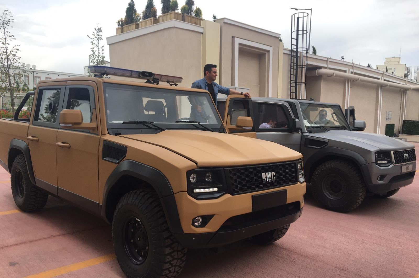 This undated photo shows Tulga vehicles, which have become ready for mass production after two and a half years of development. (AA Photo)