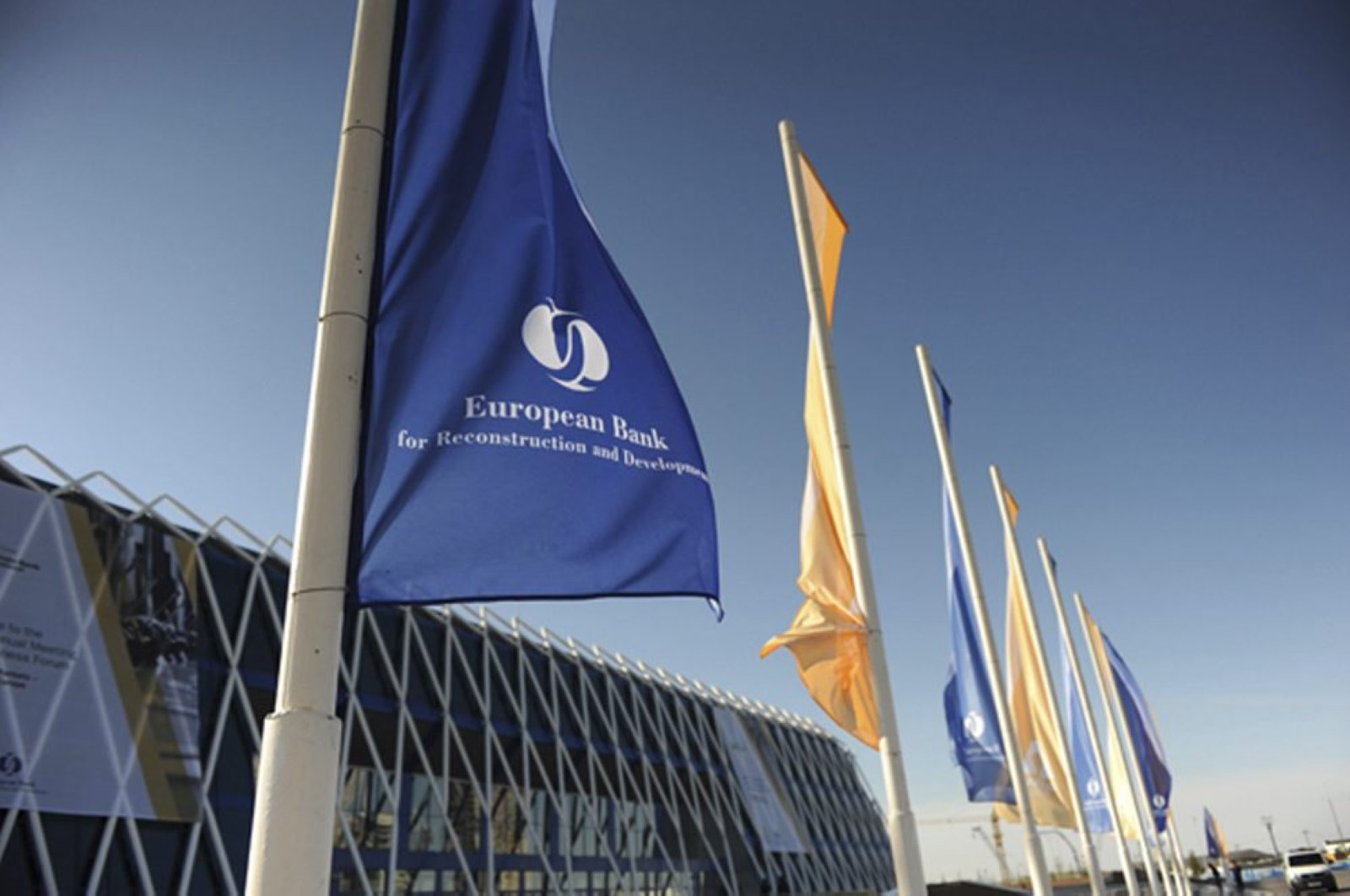 This file photo shows the European Bank for Reconstruction and Development's (EBRD) building in Astana, Kazakhstan, May 21, 2011. (SABAH File Photo)