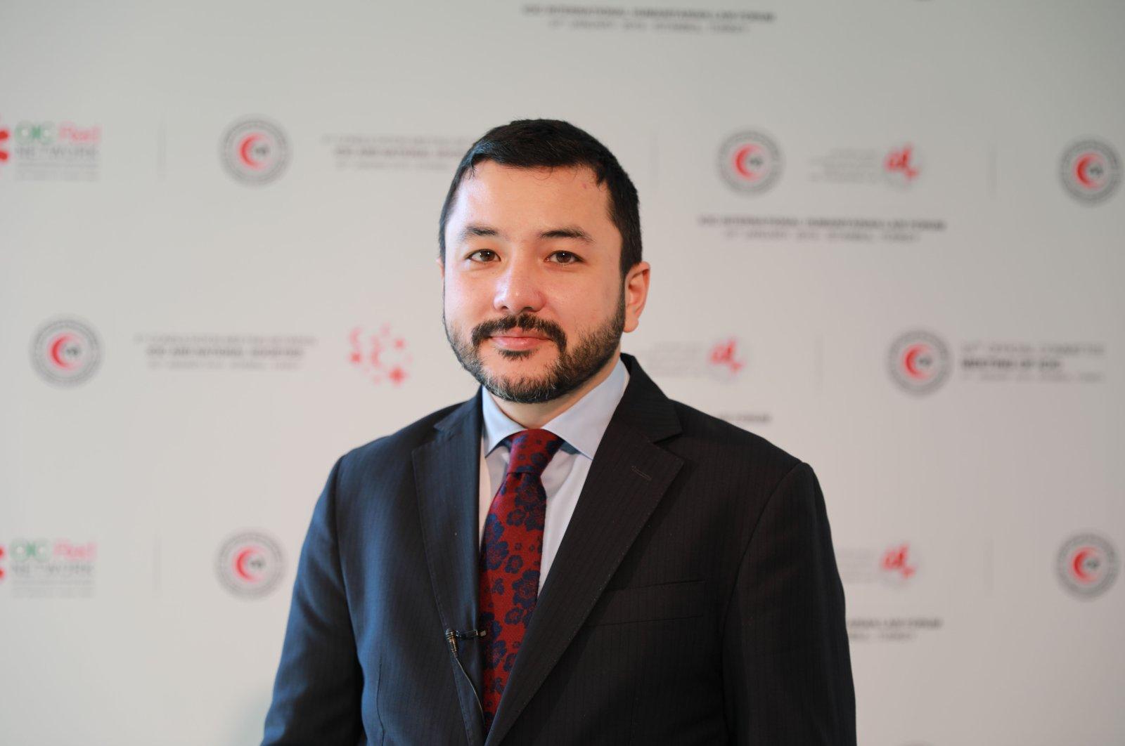 ICYF head Taha Ayhan.