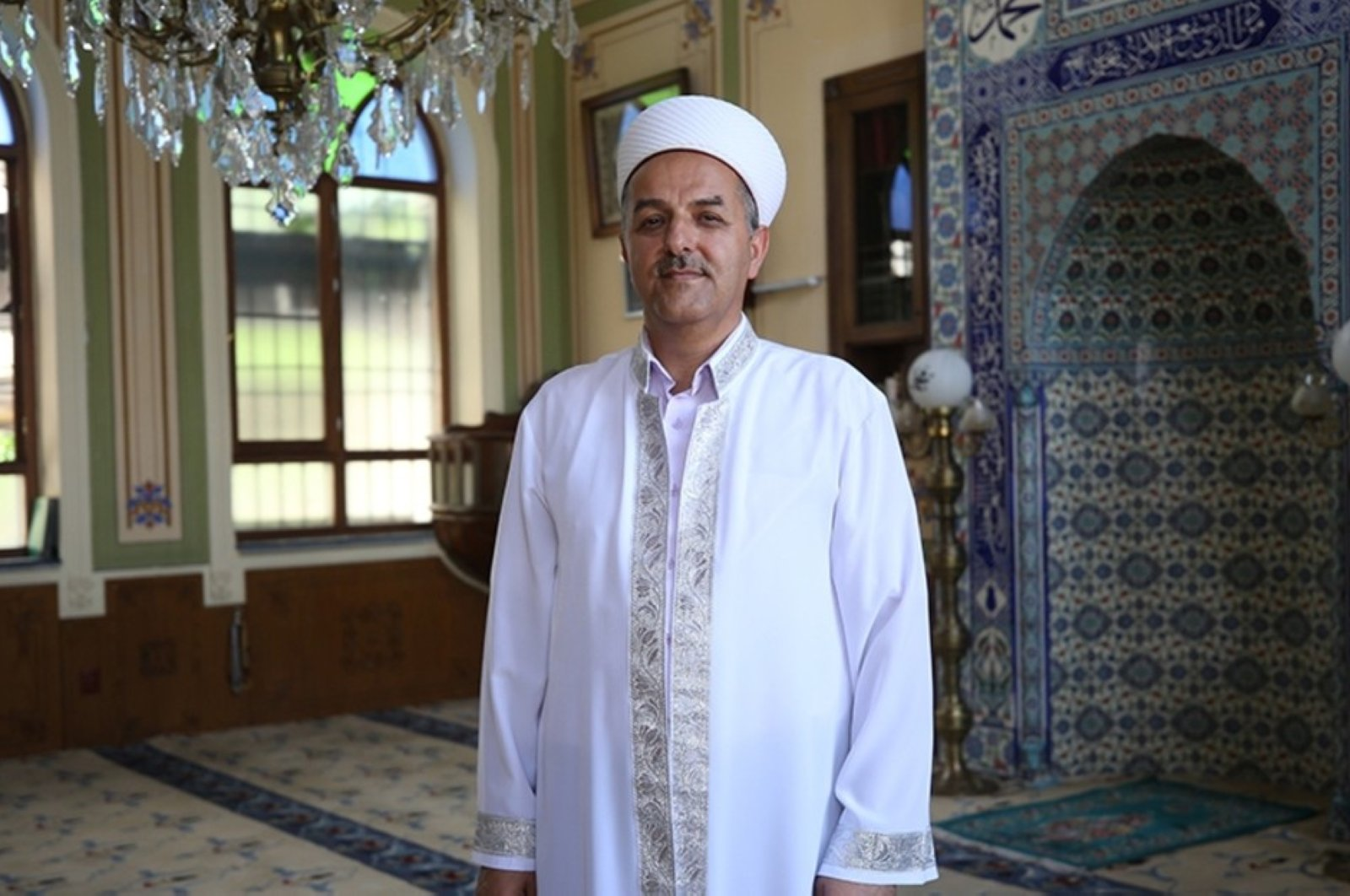 Osman Gökrem has initiated several charity campaigns for the local community in the past. (AA Photo)