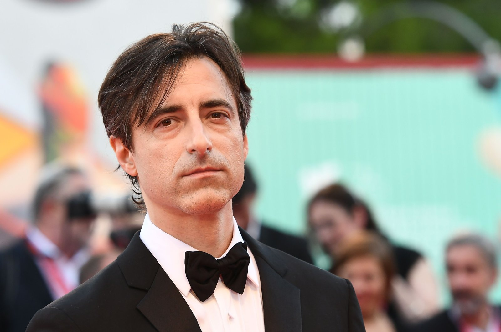 """U.S. director Noah Baumbach arrives for the screening of the film """"Marriage Story"""" during the 76th Venice Film Festival at Venice Lido, Aug. 29, 2019. (AFP Photo)"""