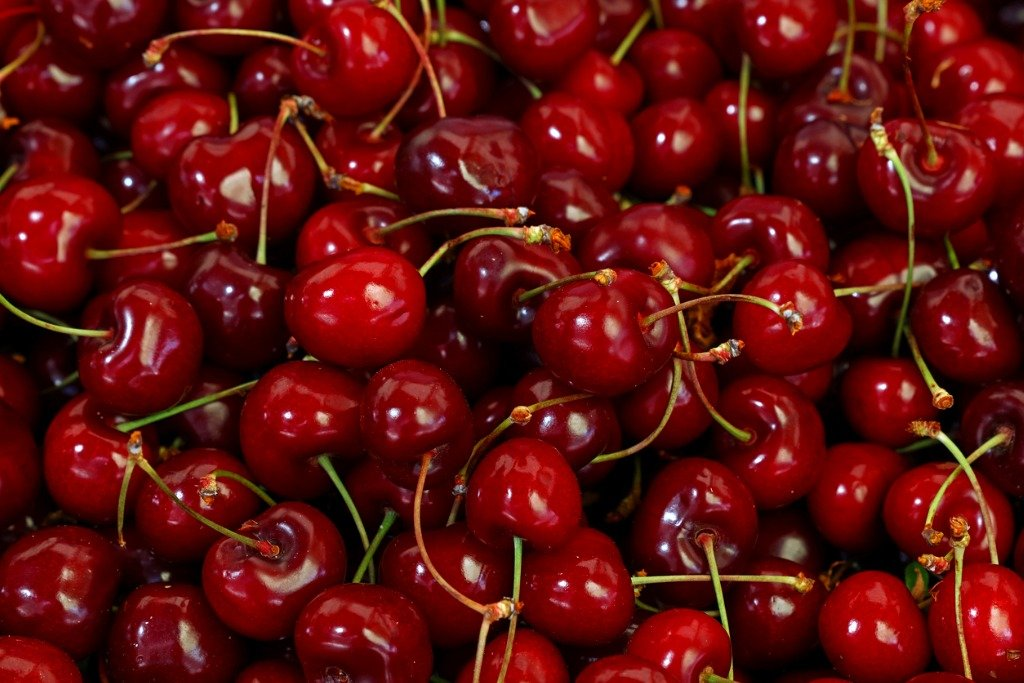 Instead of black cherries, try some