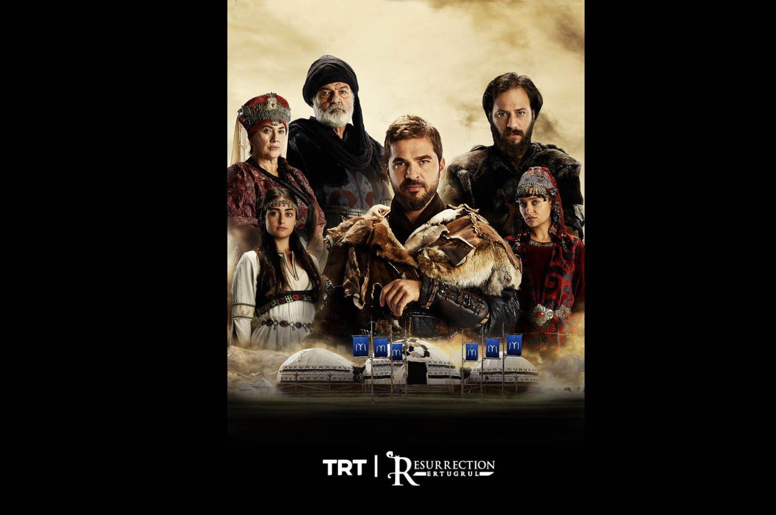 """""""Diriliş Ertuğrul"""" (""""Resurrection: Ertuğrul"""") is known as the Turkish """"Game of Thrones."""""""