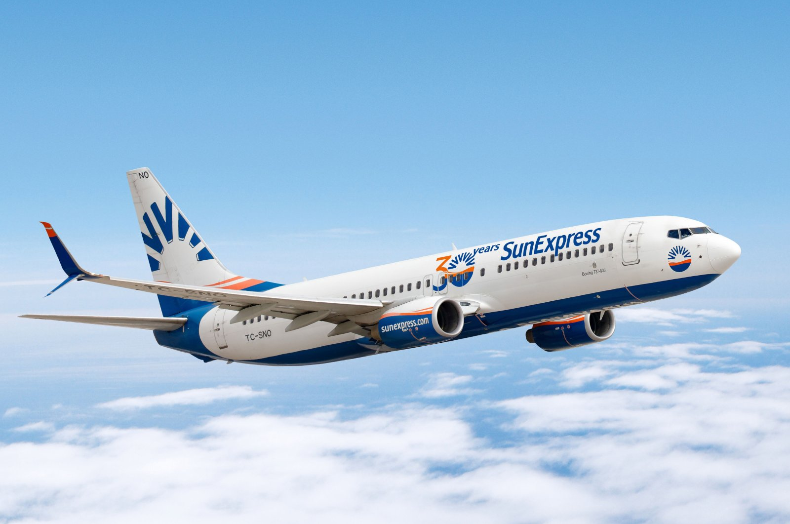 An undated file photo of a SunExpress aircraft. (DHA Photo)