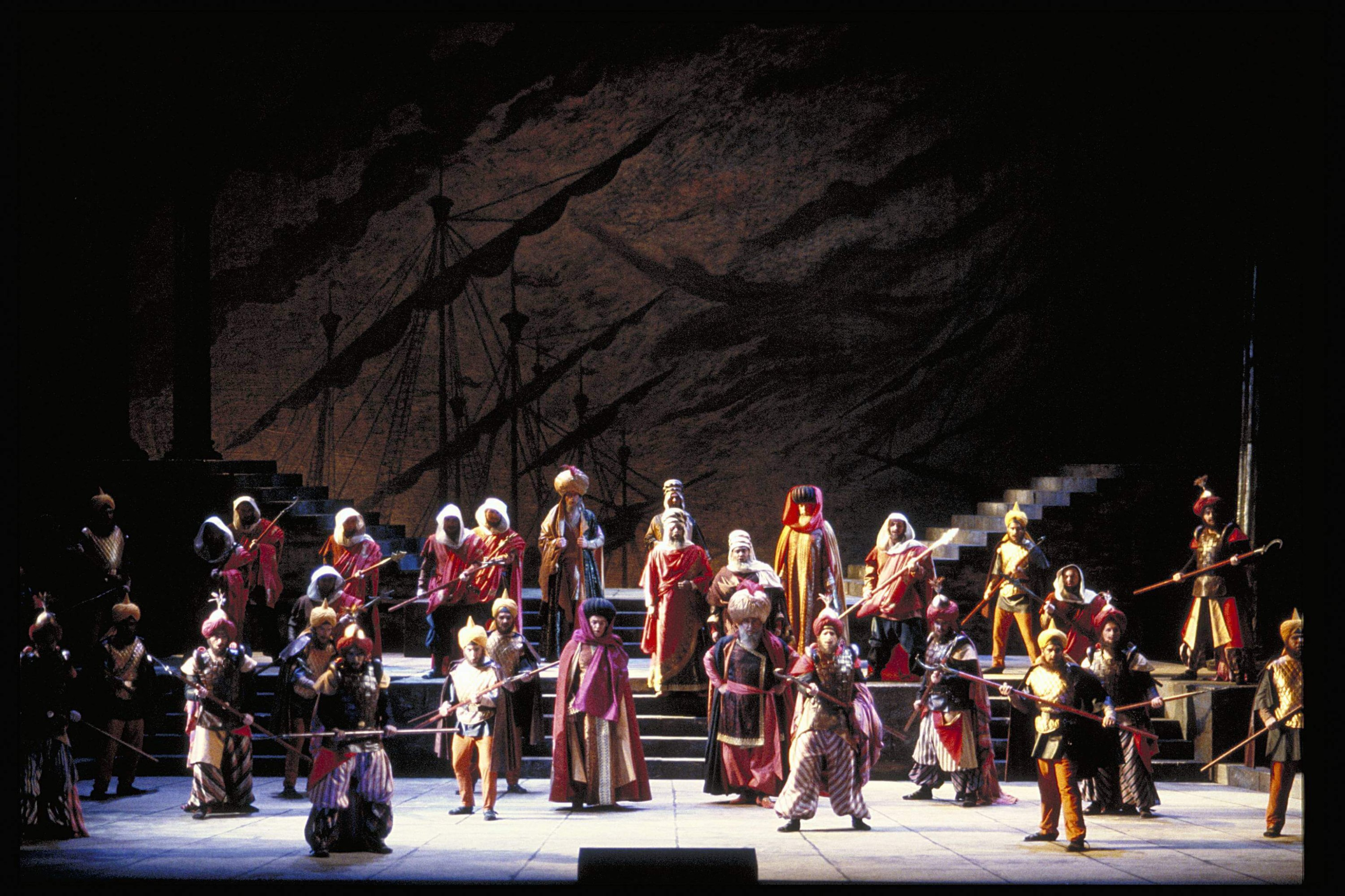 """This undated photo shows a representation of Gioachino Rossini's """"Maometto II' at San Francisco Opera House. (Photo by Getty Images)"""