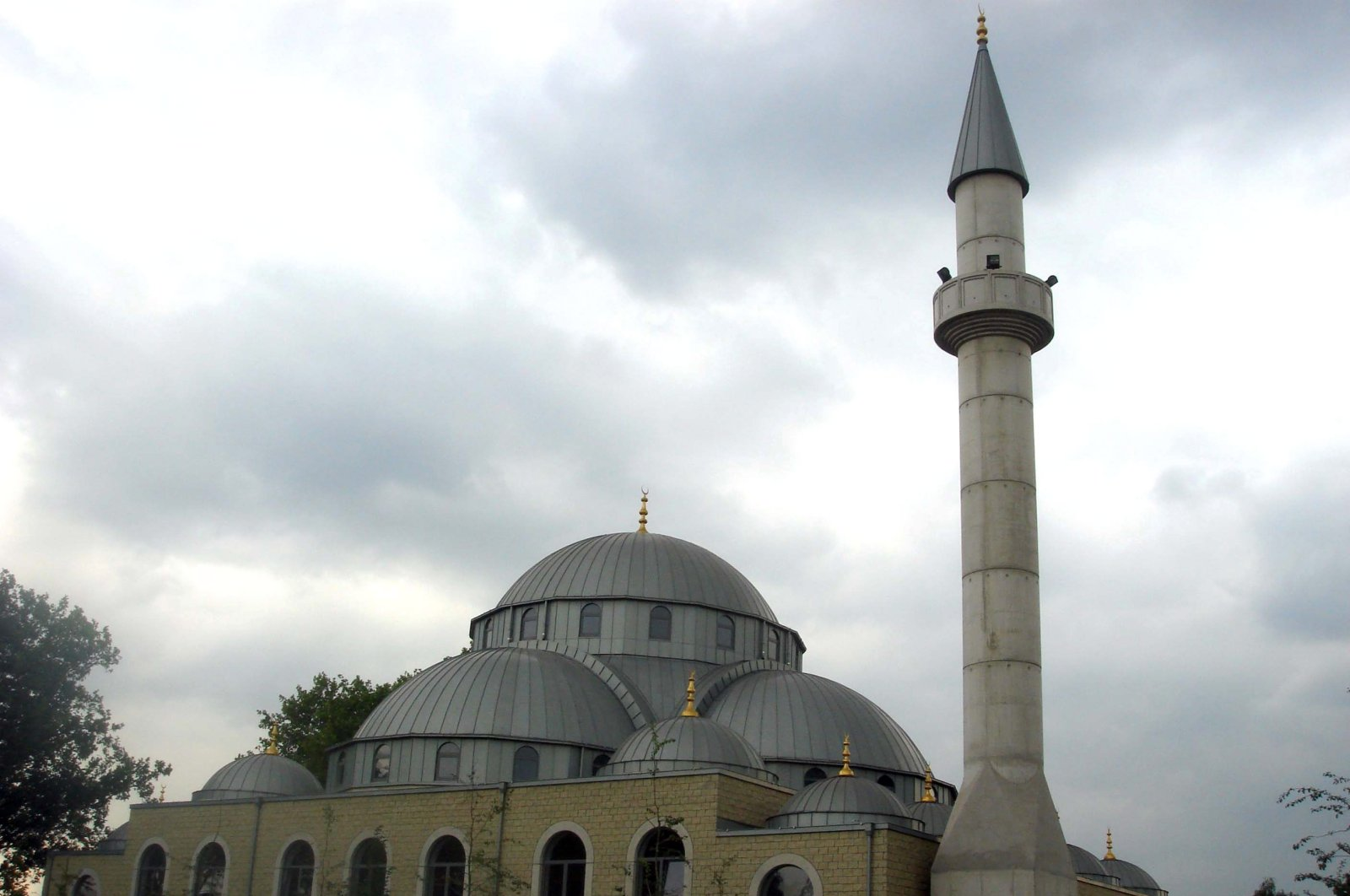 A mosque in the western city of Duisburg (Sabah File Photo)