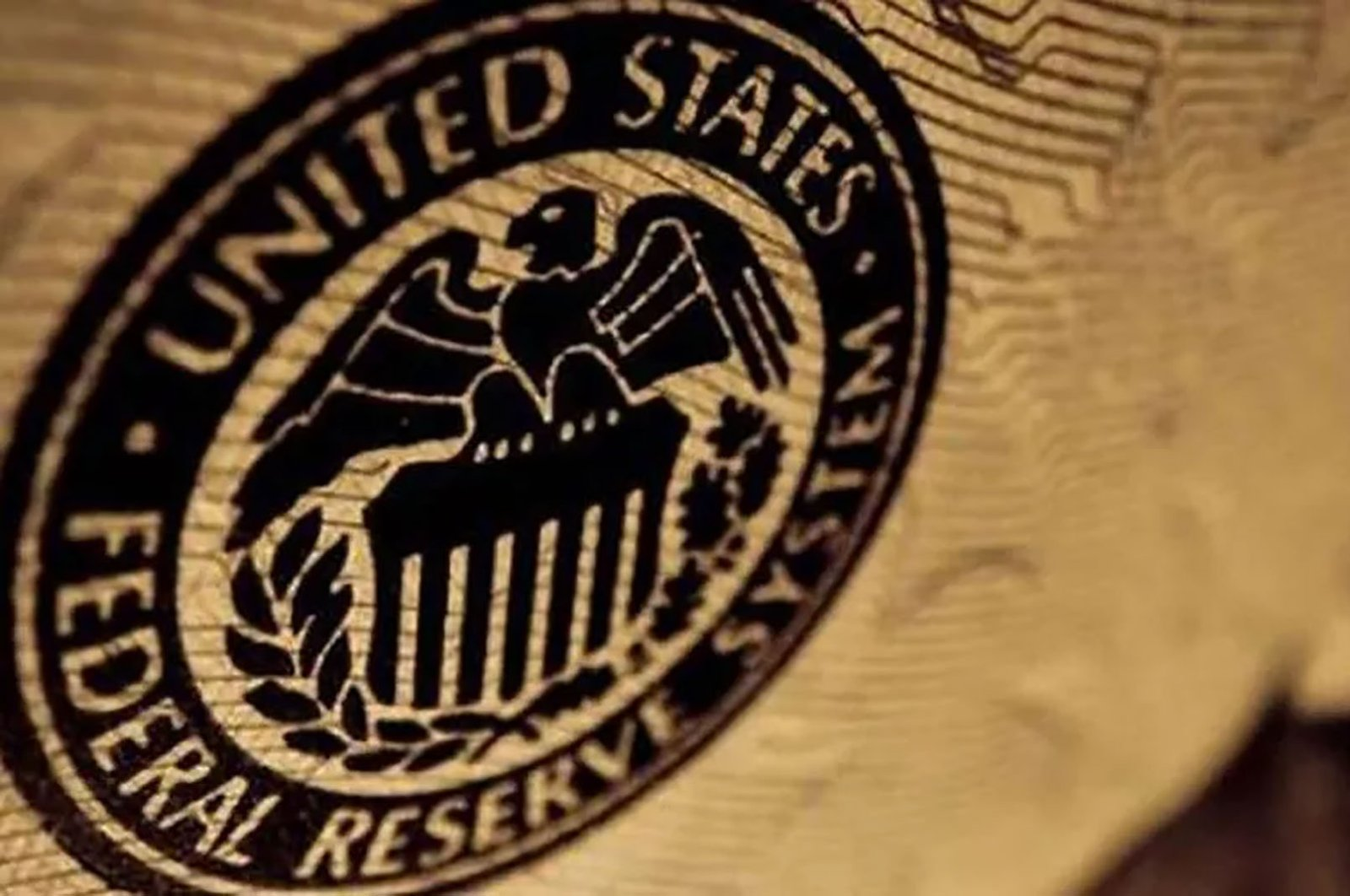 Logo of the U.S. Federal Reserve.