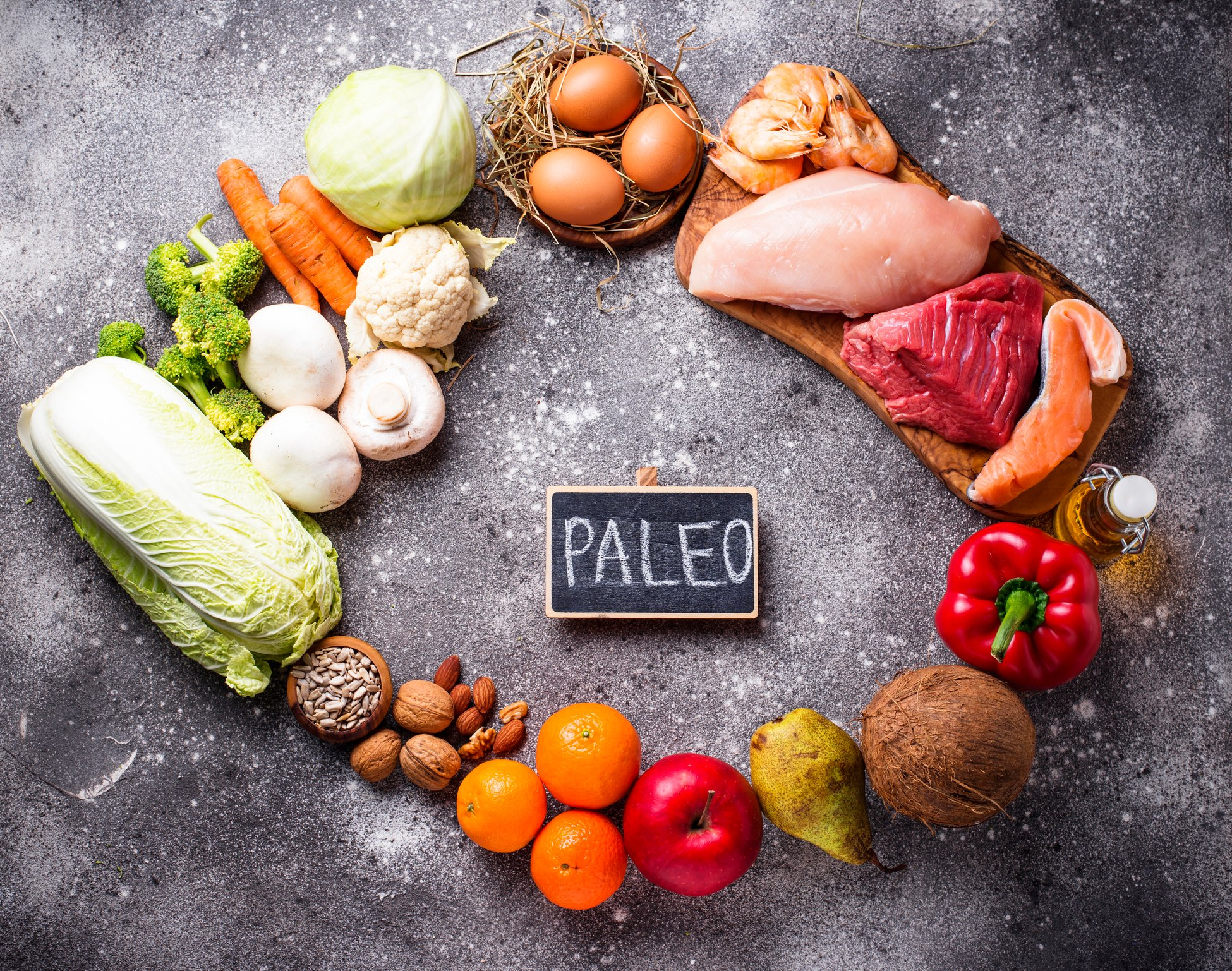 The paleo diet mimics how prehistoric humans may have eaten. (iStock Photo)