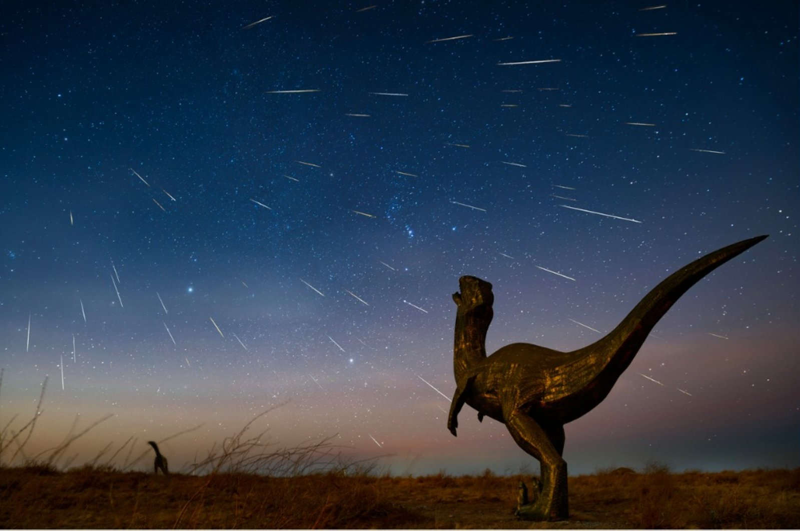 The trajectory of the killer asteroid was just right to cause maximum damage. (iStock Photo)