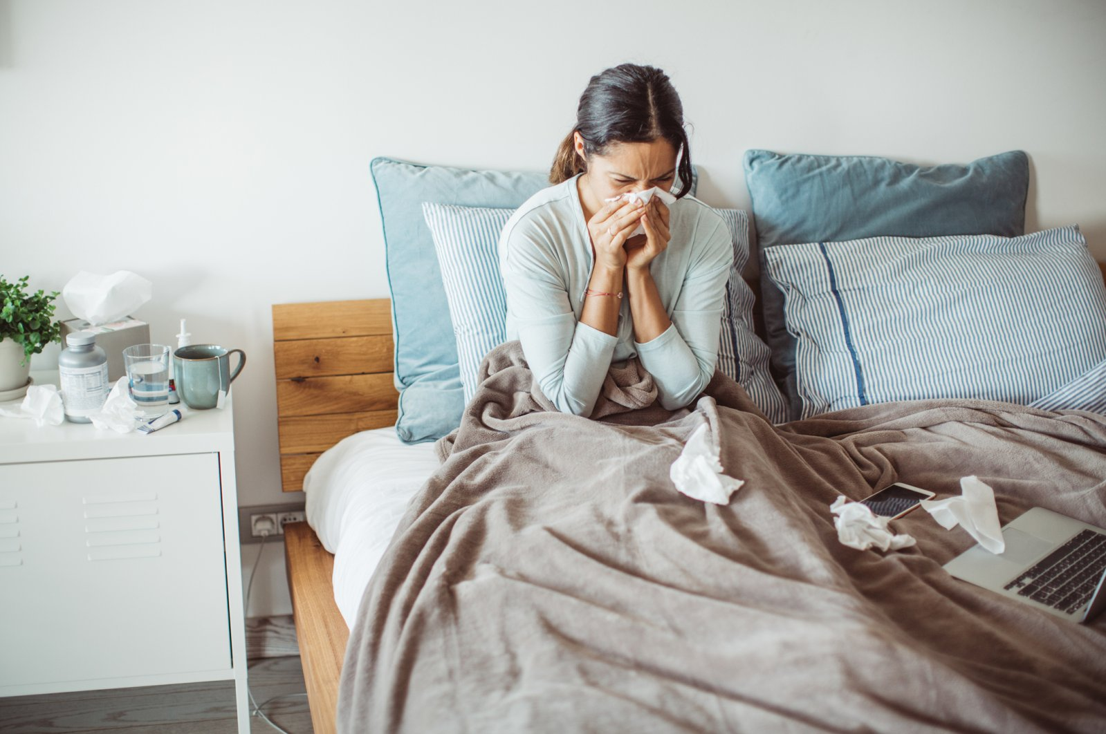 Colds, sores and tiredness might mean you don't have enough immune system cells or that they aren't functioning properly. (iStock Photo)