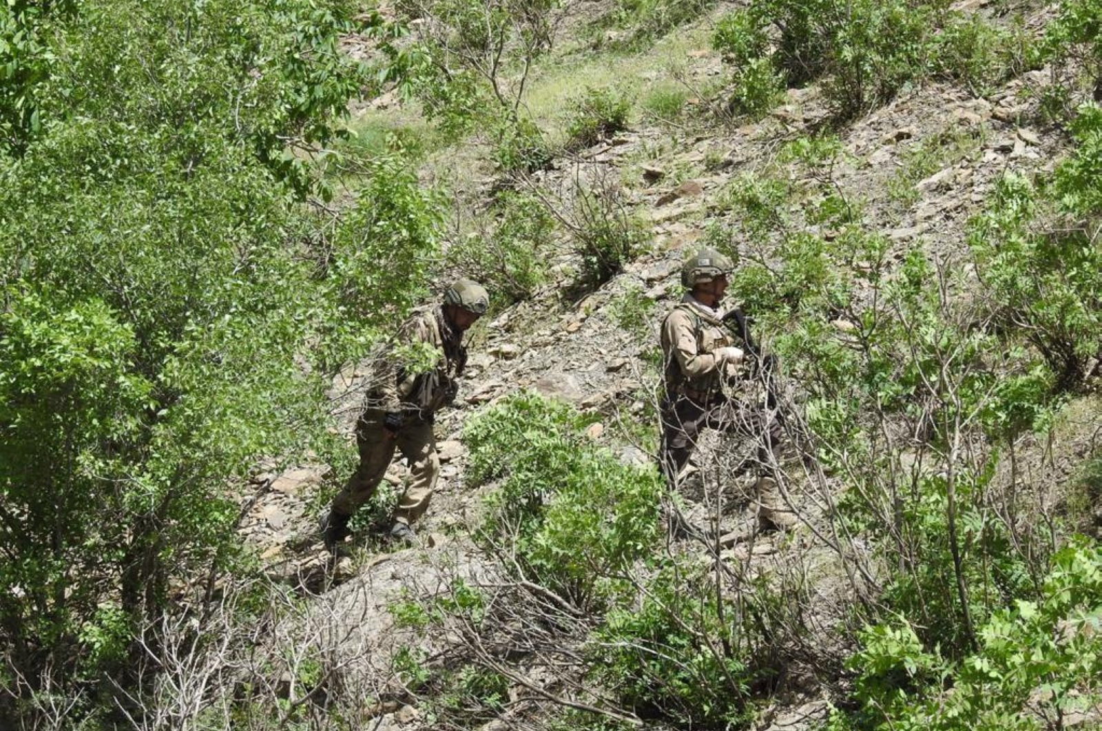 Turkish security forces regularly conduct counterterrorism operations in the eastern and southeastern provinces of Turkey, where the PKK has attempted to establish a strong presence. (AA)