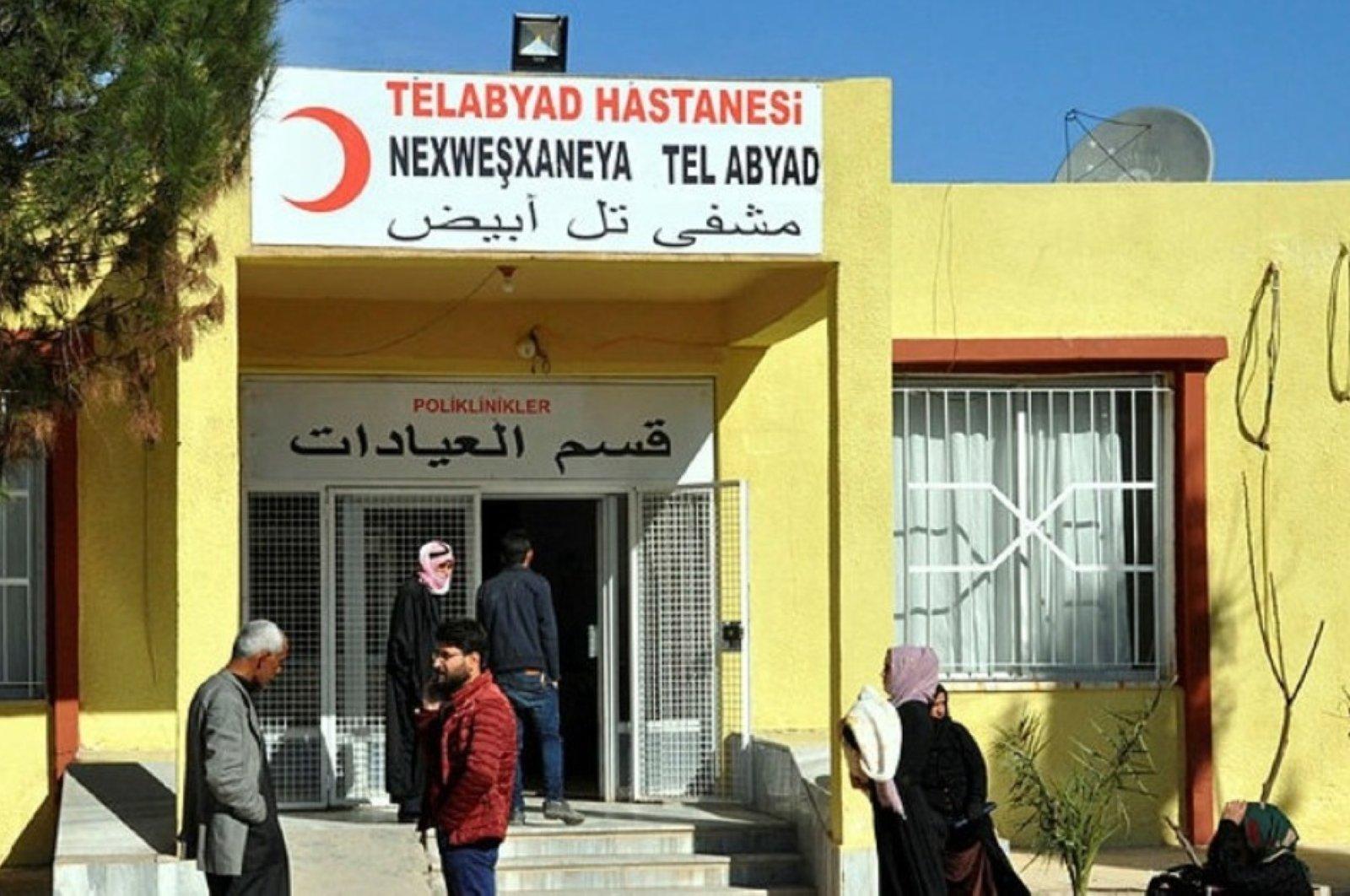 Renovated Tal Abyad Hospital, Jan.24, 2020. (IHA PHOTO)