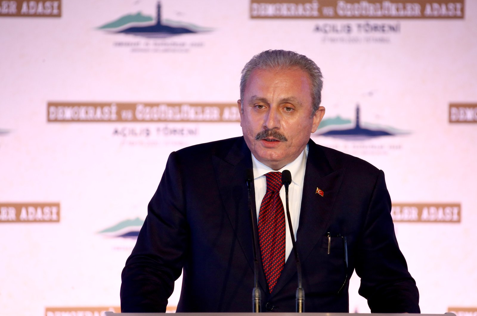 Turkey's parliament speaker Mustafa Şentop (AA Photo)