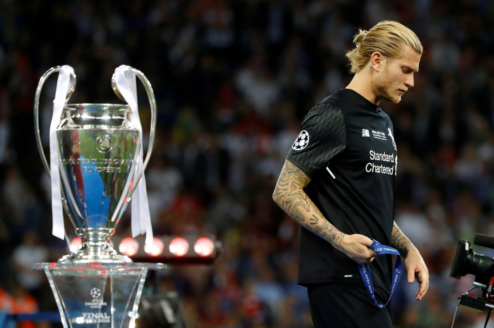 Champions League Final between Real Madrid and Liverpool at NSC Olympic Stadium, Kyiv, Ukraine on May 26, 2018. (Reuters Photo)