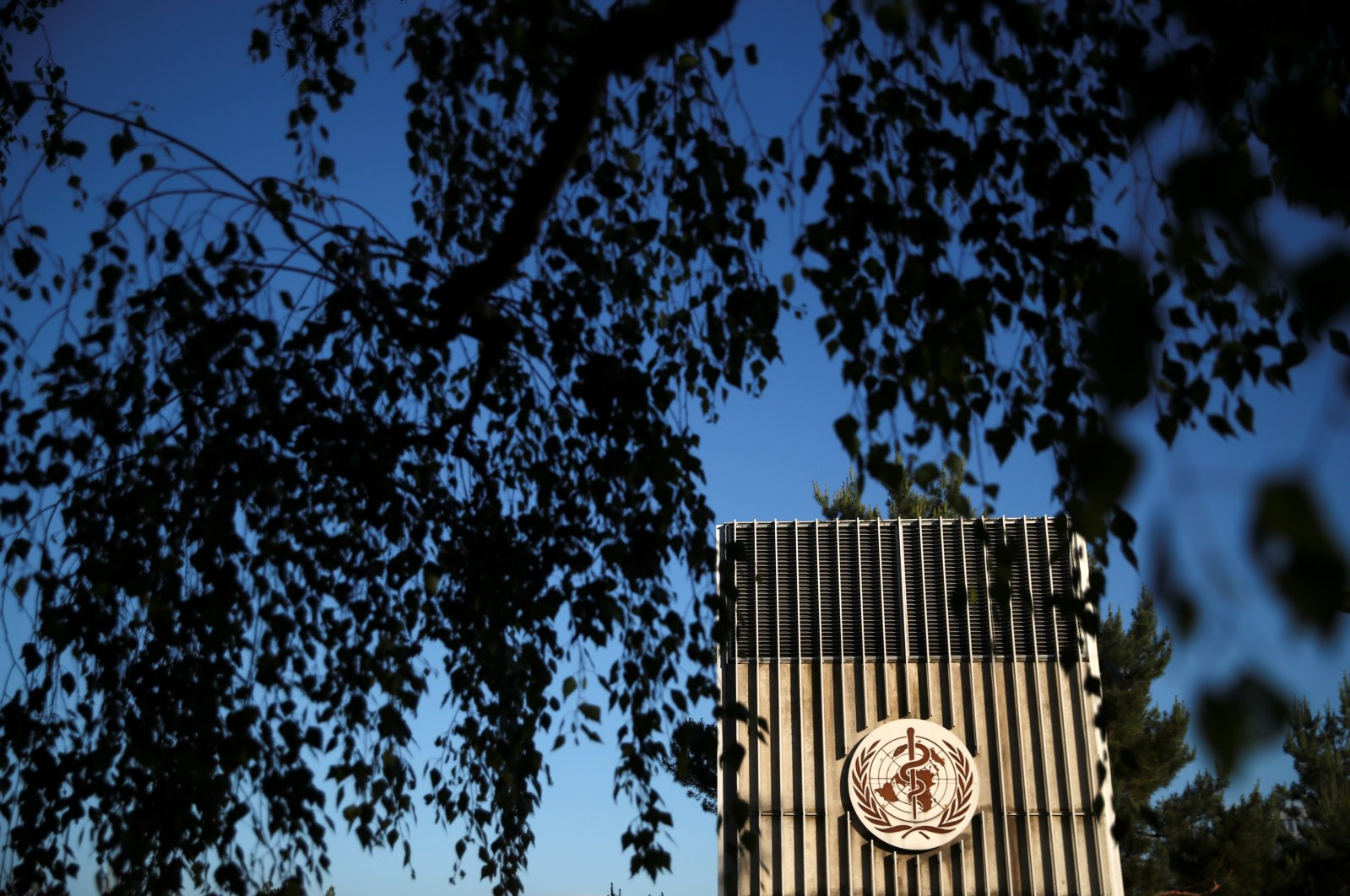 The headquarters of the World Health Organization (WHO) are pictured during the World Health Assembly (WHA) following the outbreak of the coronavirus disease (COVID-19) in Geneva, Switzerland, May 18, 2020. (Reuters Photo)