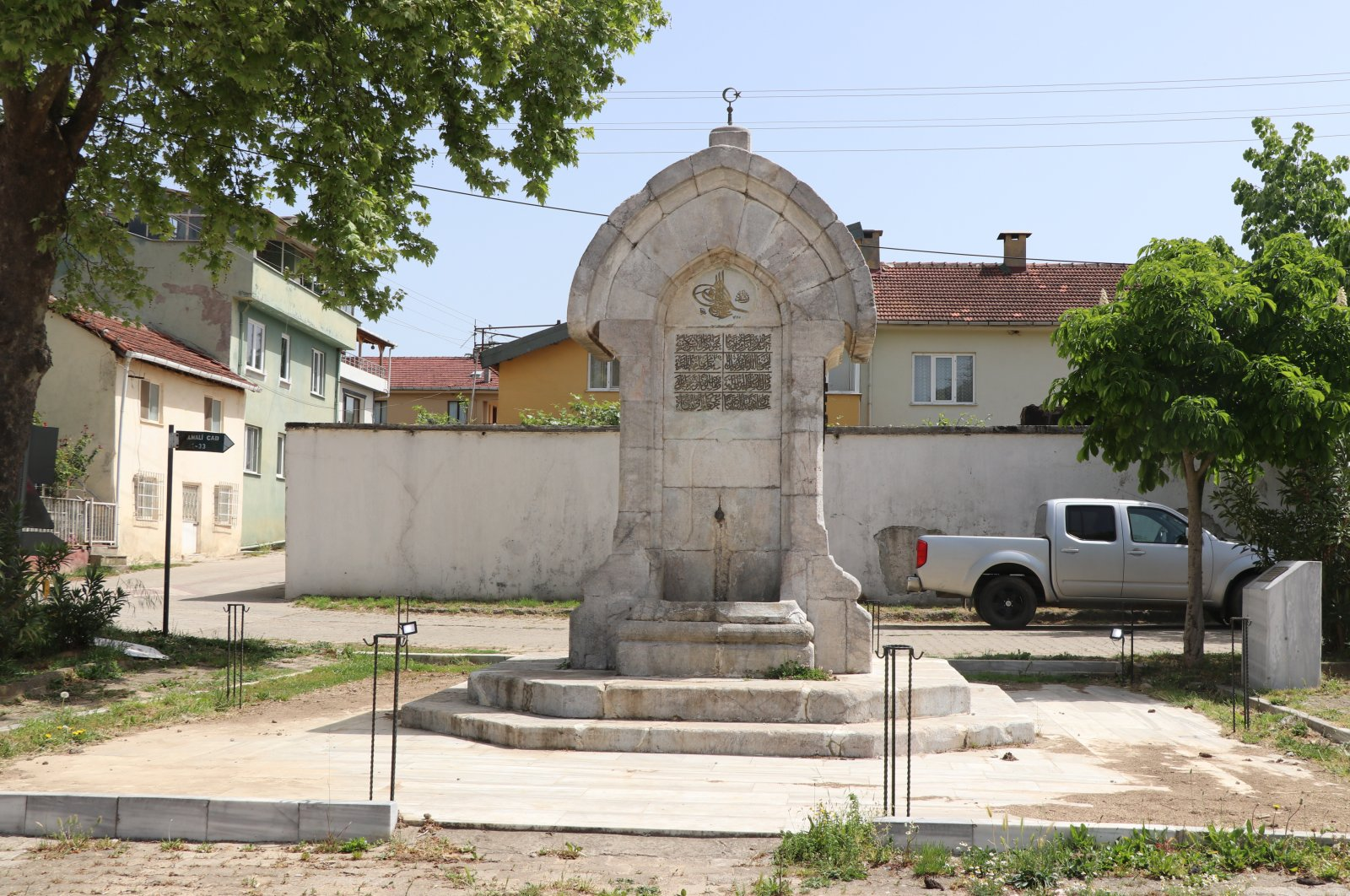 The fountain was built in 1909 when Sultan Mehmed V Reşad acceded to the throne. (AA PHOTO)