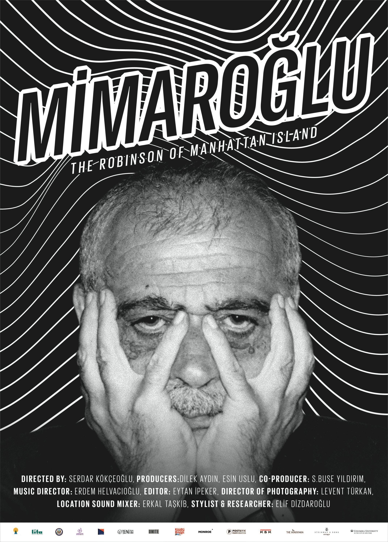 "A poster of ""Mimaroğlu: The Robinson of Manhattan Island"". (Photo Courtesy of Heimatlos Films)"
