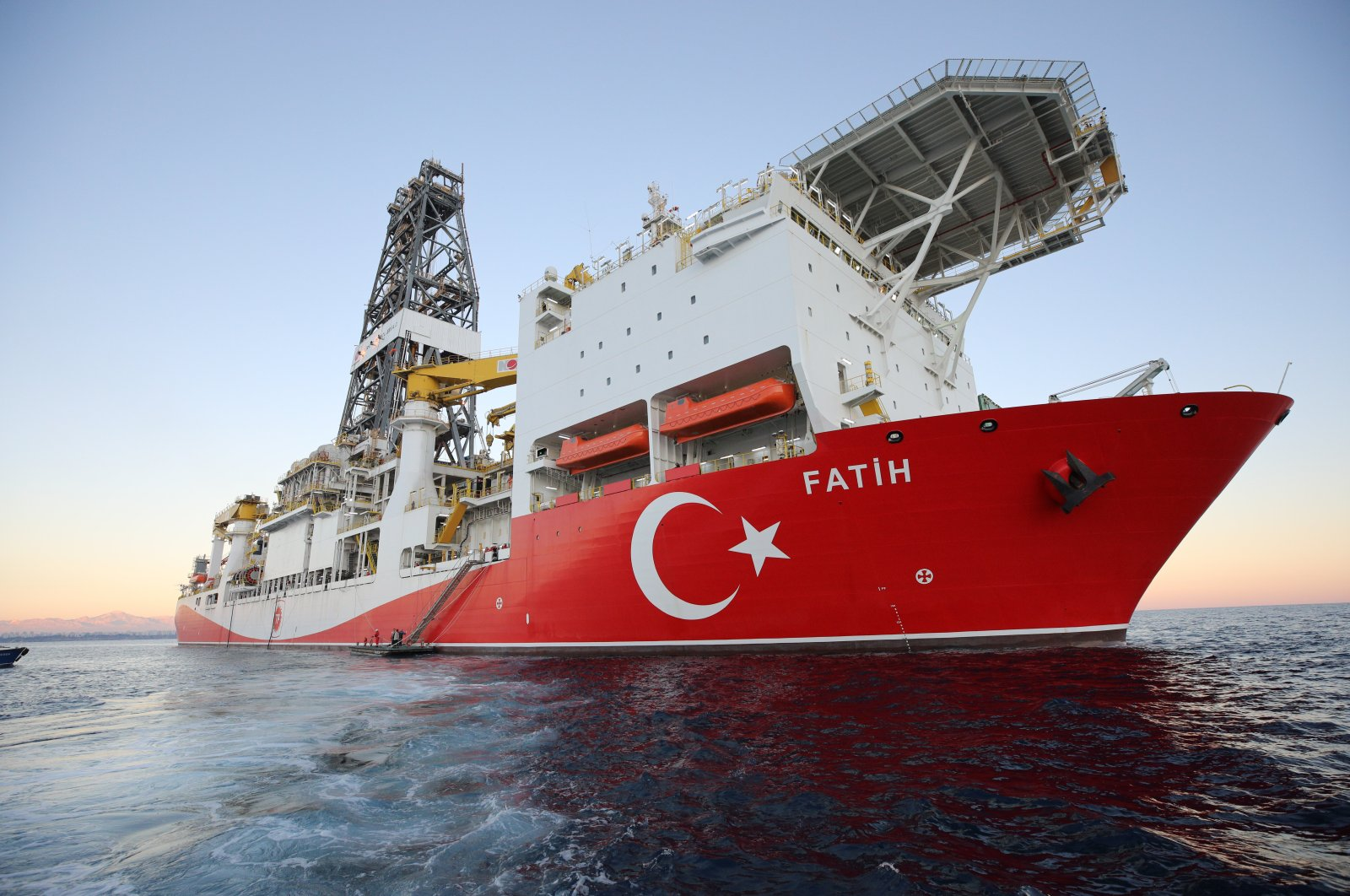 Seismic exploration vessel Fatih in the Eastern Mediterranean, Oct. 31, 2019. (AA File Photo)