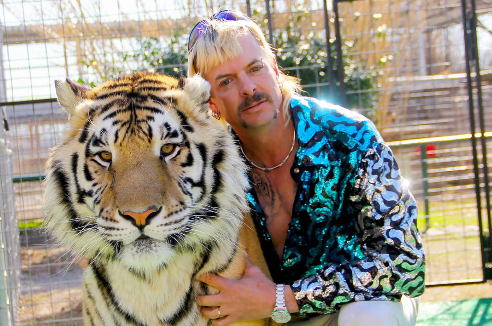 "Joe Exotic in Episode 1 of ""Tiger King"" (Courtesy of NETFLIX)"