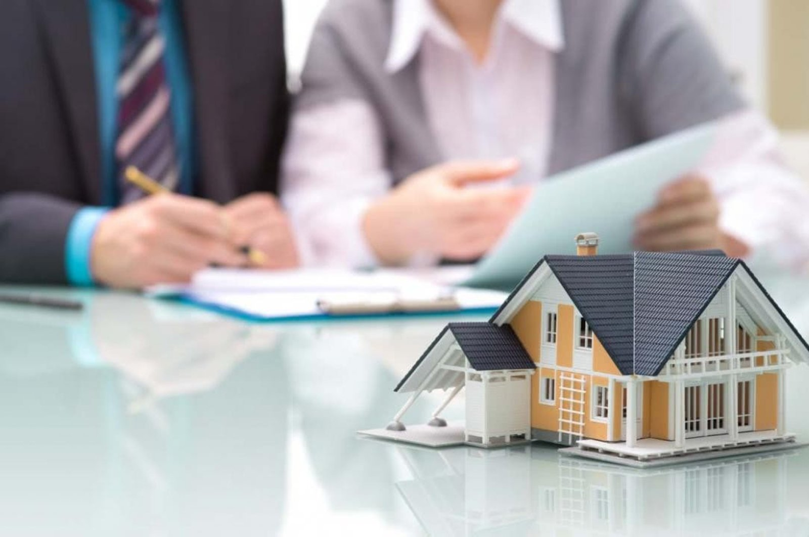 Turkey's state banks launched four loan campaigns including mortgages for new houses on June 1, 2020. (IHA Photo)