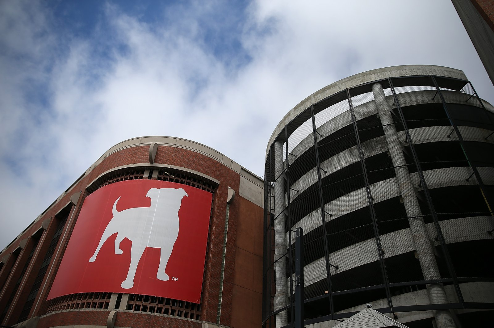 This file photo shows the Zynga logo at its headquarters in San Francisco, California. (AFP Photo)