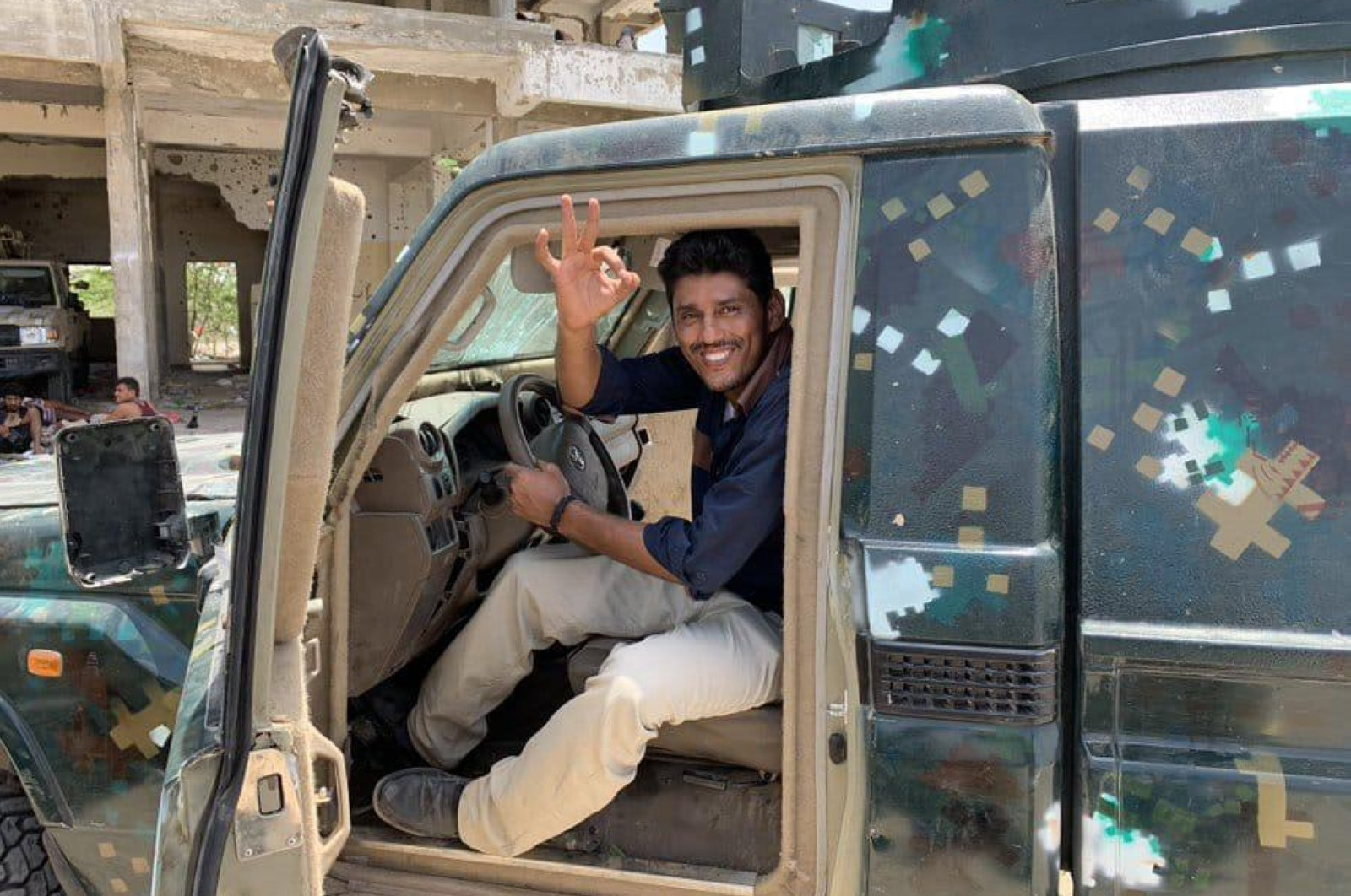 Journalist Nabil al-Quaety, who was killed by a group of armed men outside his home in Aden, Tuesday, June 2, 2020 was a finalist for the United Kingdom's Rory Peck Award in 2016 for his work covering Yemen's war, Aden,Yemen. (AP Photo)