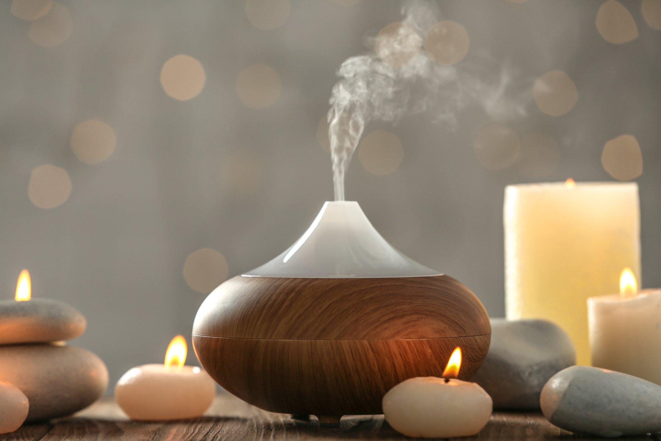 You can add a few drops of essential oils to your diffuser for a nice smelling home. (iStock Photo)