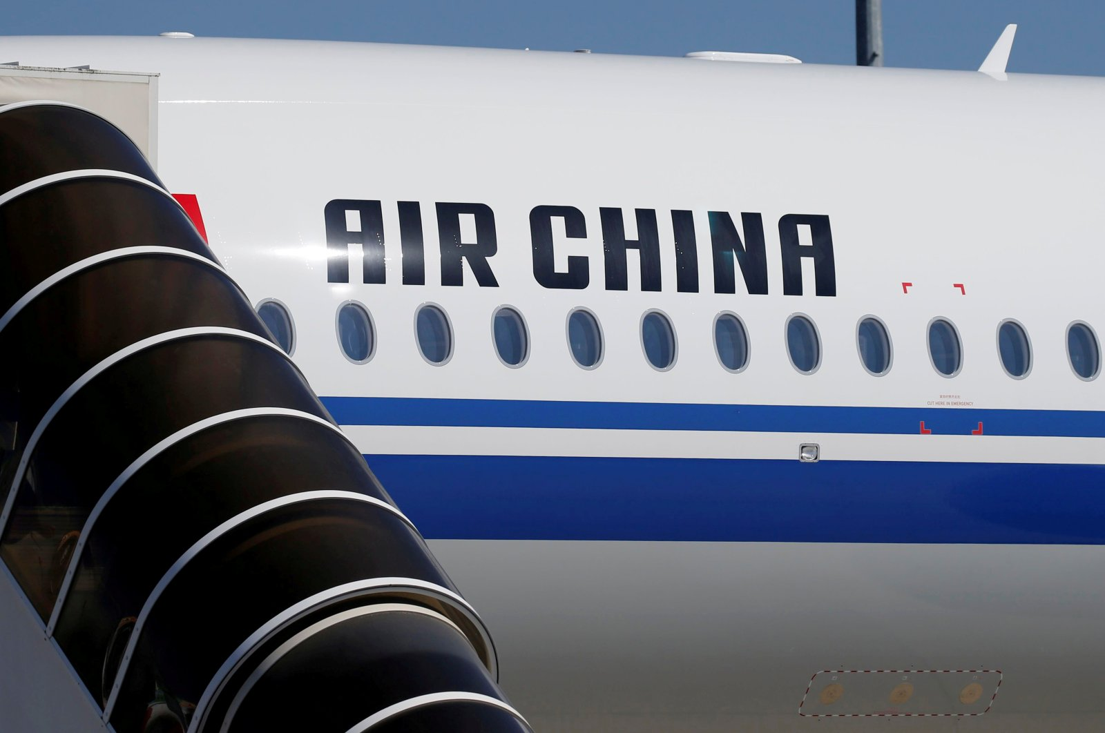 An Air China airlines Airbus commercial passenger aircraft at Colomiers near Toulouse, France, July 19, 2018. (REUTERS Photo)
