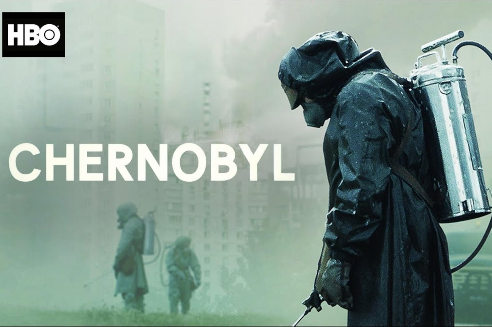 "Still shot from the series ""Chernobyl."""