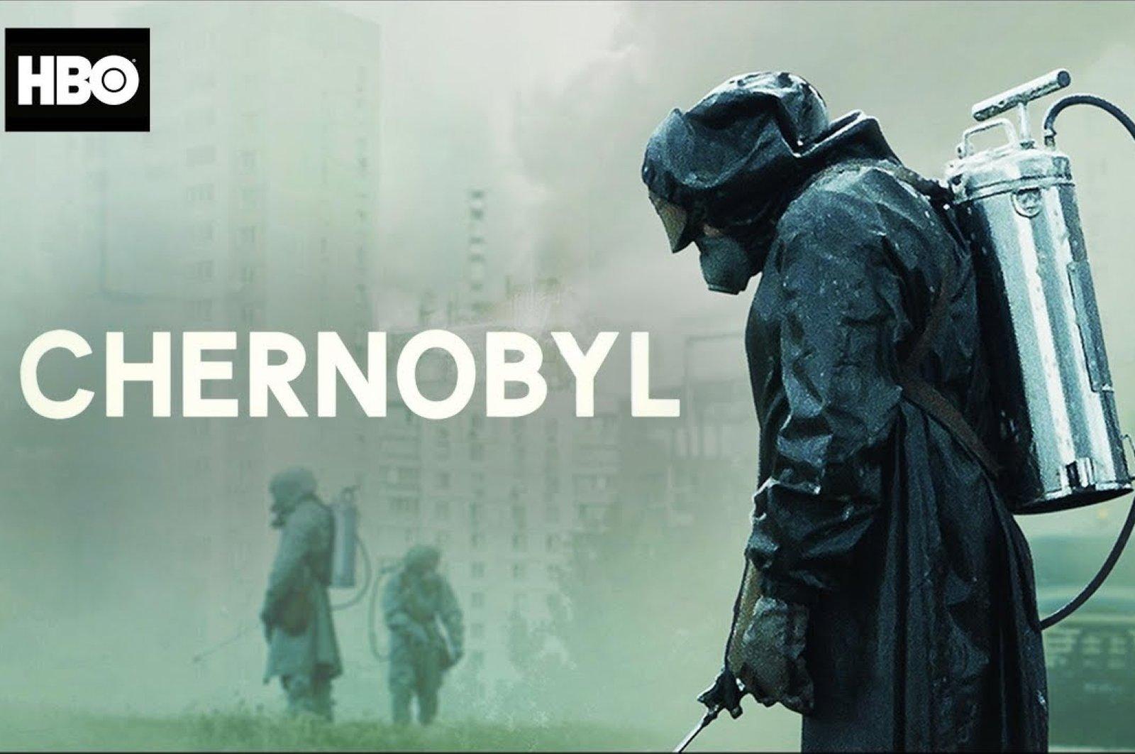 "Still shot from the series ""Chernobyl."""
