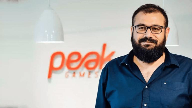 Peak's founding partner and CEO Sidar Şahin.