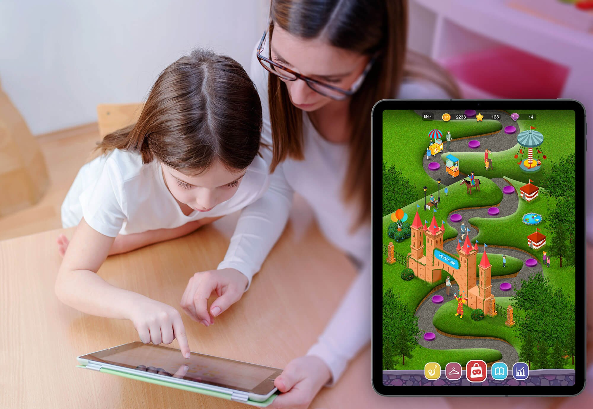 The training platform MentalUP has attracted intense attention as the first and only gamified education platform for children in Turkey.