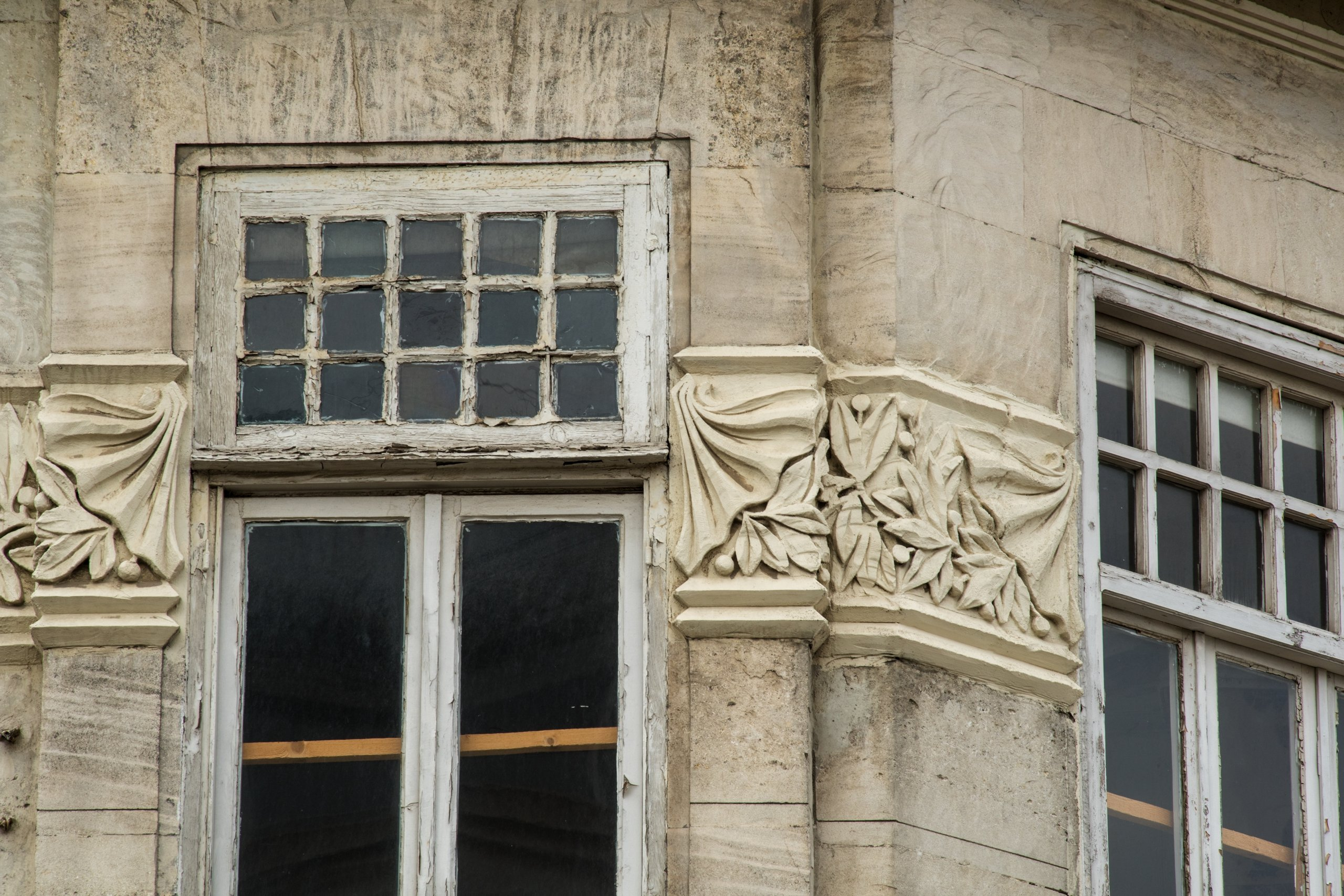 Details from the building.