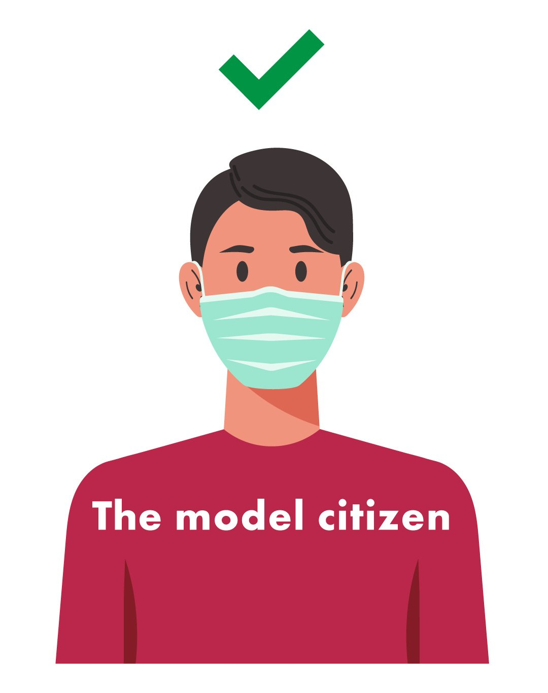 Be like this, be a model citizen.