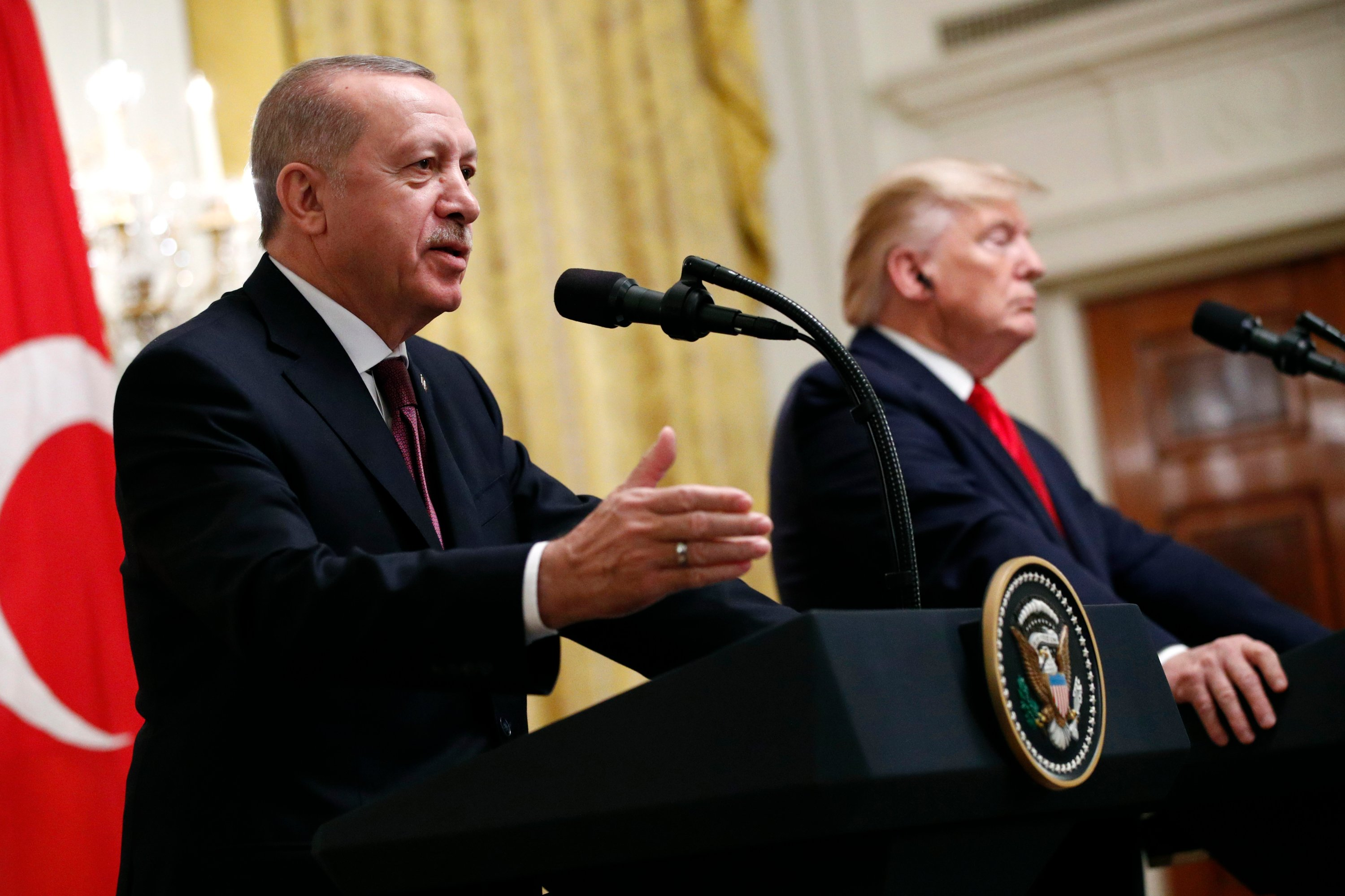 Erdoğan, Trump discuss Libya, US protests in phone call | Daily Sabah