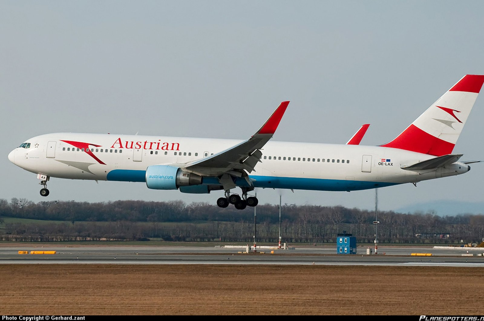 An Austrian Airlines passenger plane seen in this file photo from Nov. 27, 2013.