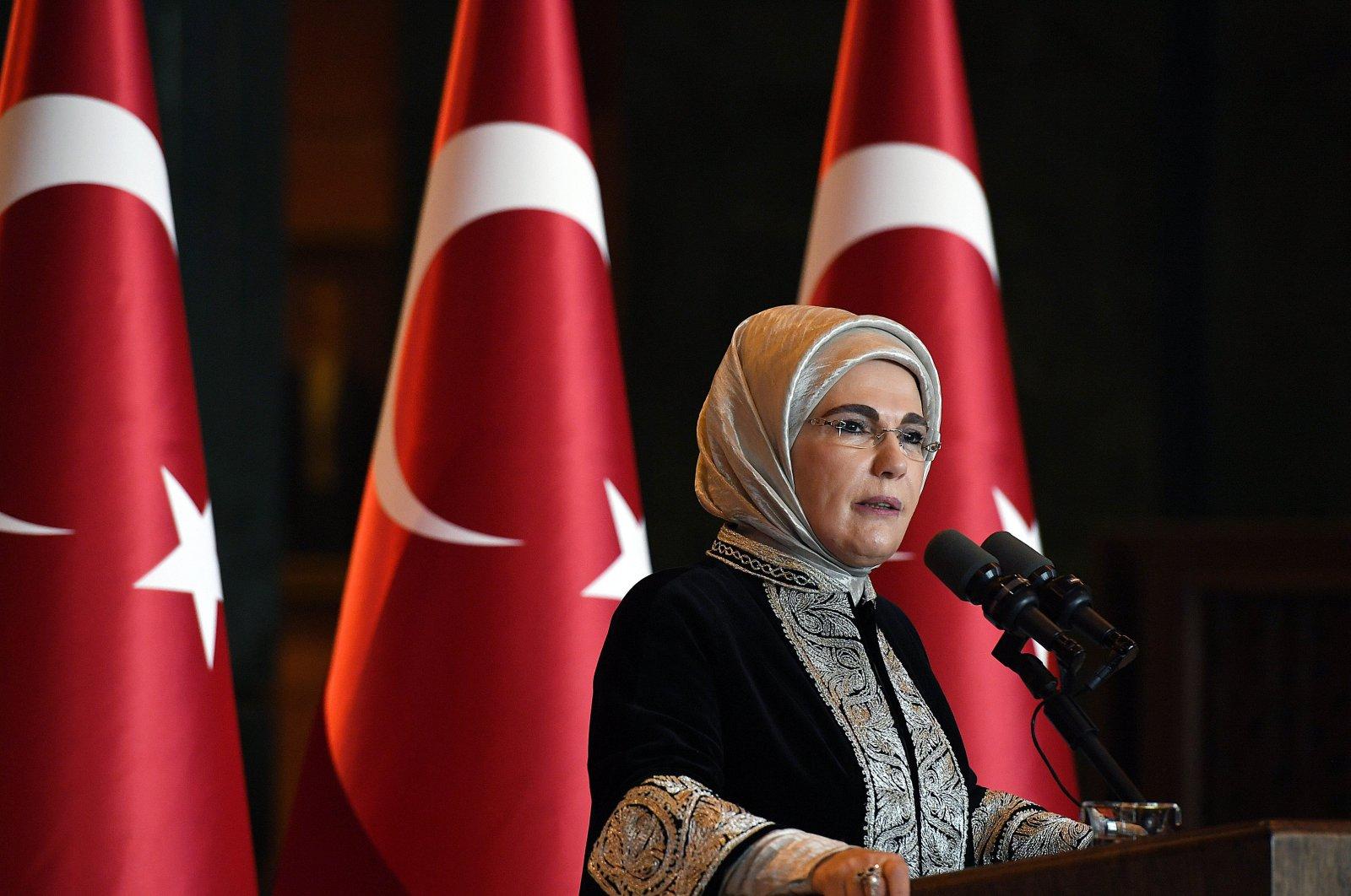 First Lady Emine Erdoğan (AA Photo)