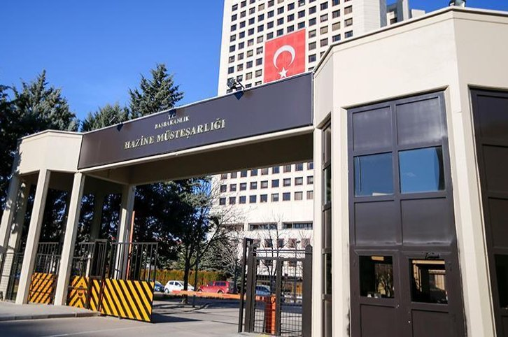 The headquarters of Turkey's Treasury and Finance Ministry, Ankara.