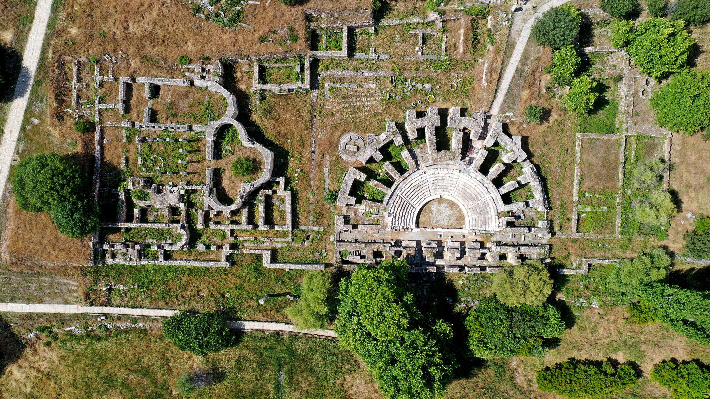 The ancient city of Aphrodisias is located in Aydın's Karacasu district. (AA PHOTO)
