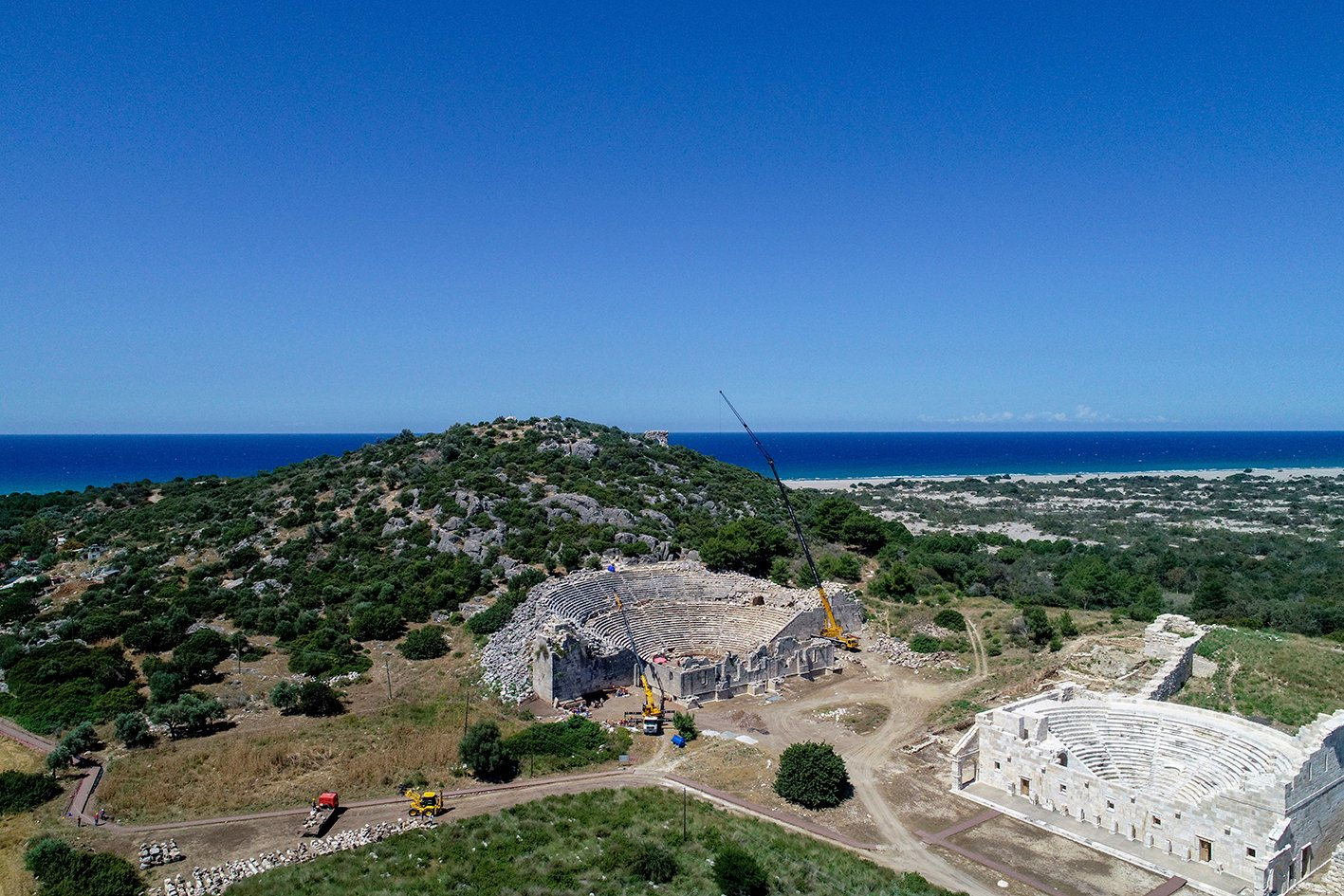The Turkish government has declared 2020 as the year of Patara. (AA PHOTO)