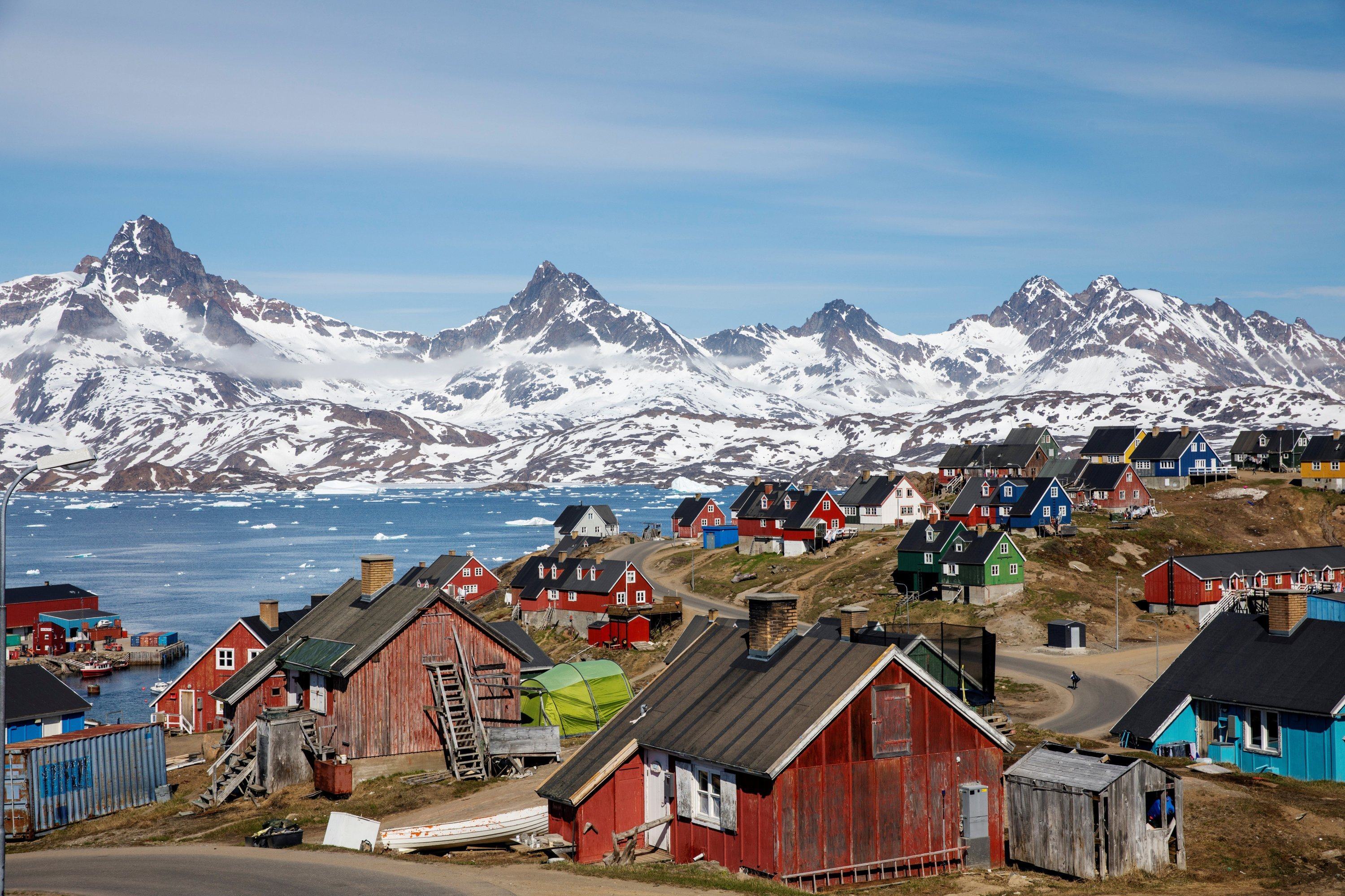 US opens consulate in Greenland capital, year after bid to buy ...