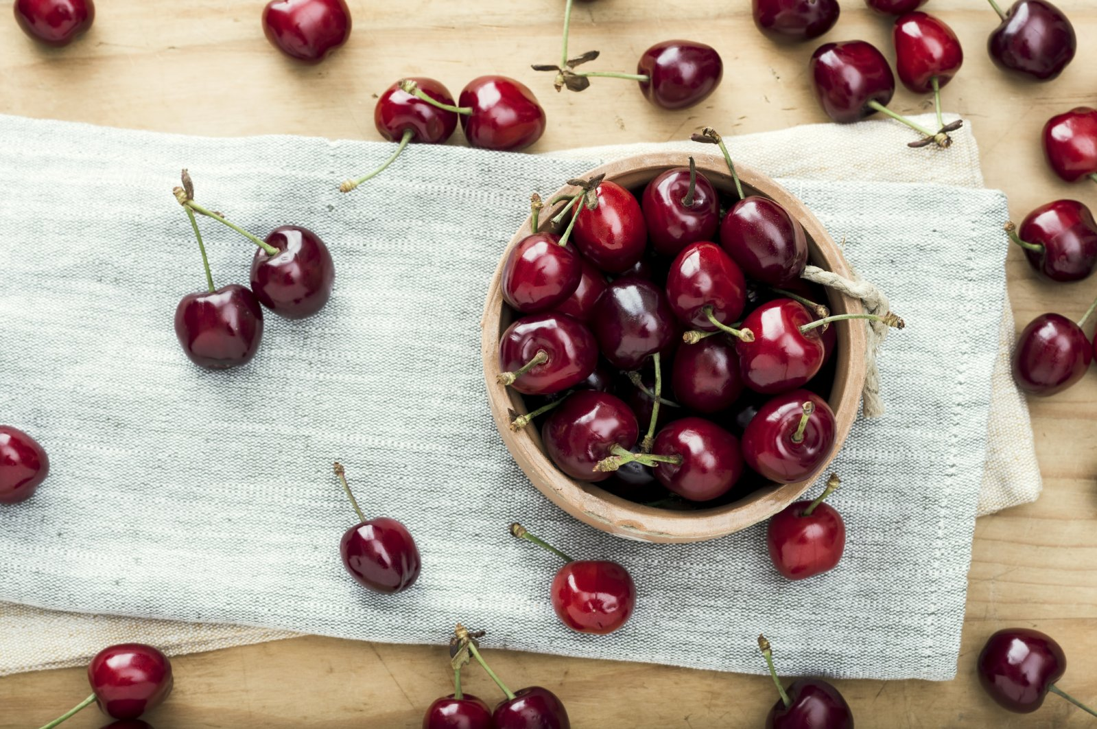 Contrary to popular belief, cherries are not berries; they are drupes. (iStock Photo)