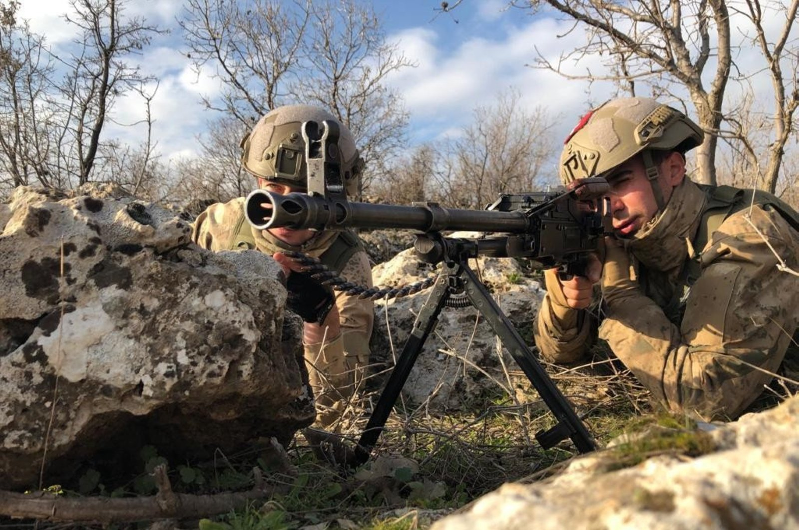 Turkish security forces regularly conduct counterterrorism operations in the eastern and southeastern provinces of Turkey where the PKK has attempted to establish a strong presence and bases (AA Photo)