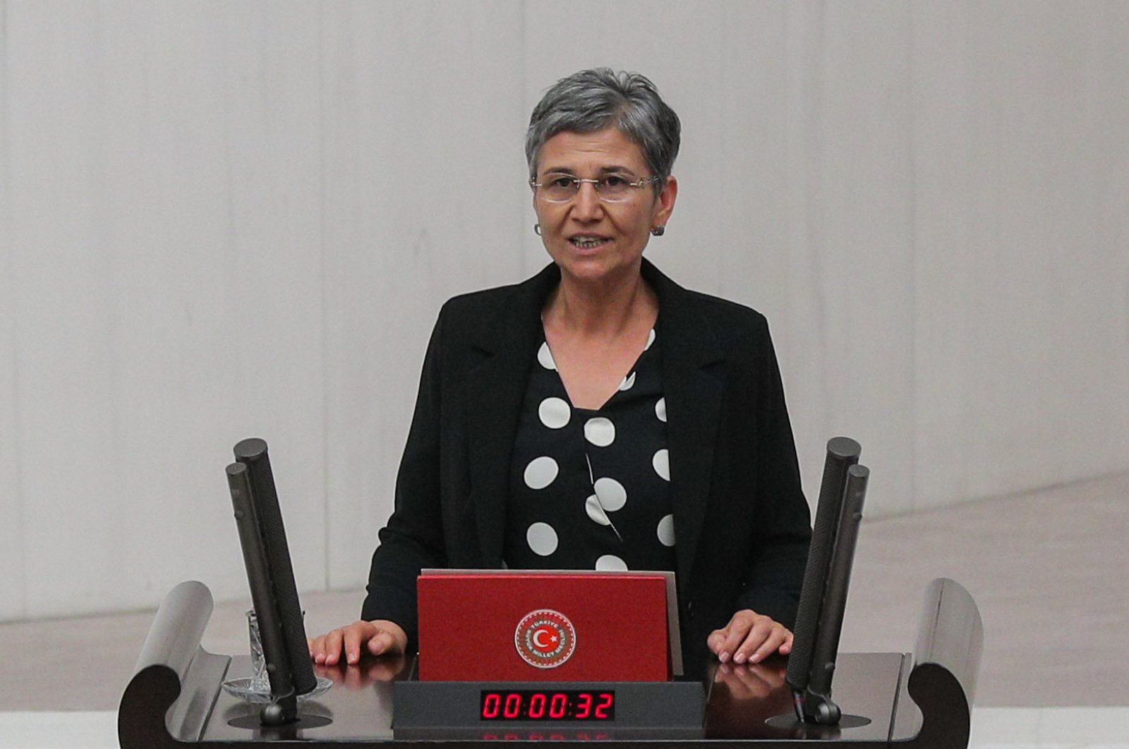 Former pro-PKK Peoples' Democratic Party (HDP) deputy Leyla Güven. (SABAH)