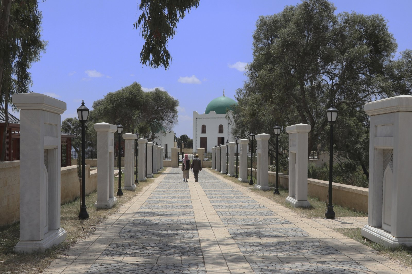 Al-Nejashi tomb, located in northern Ethiopia and restored by Turkey's state-run Turkish Cooperation and Coordination Agency (TIKA), opens its doors to visitors. (AA Photo)
