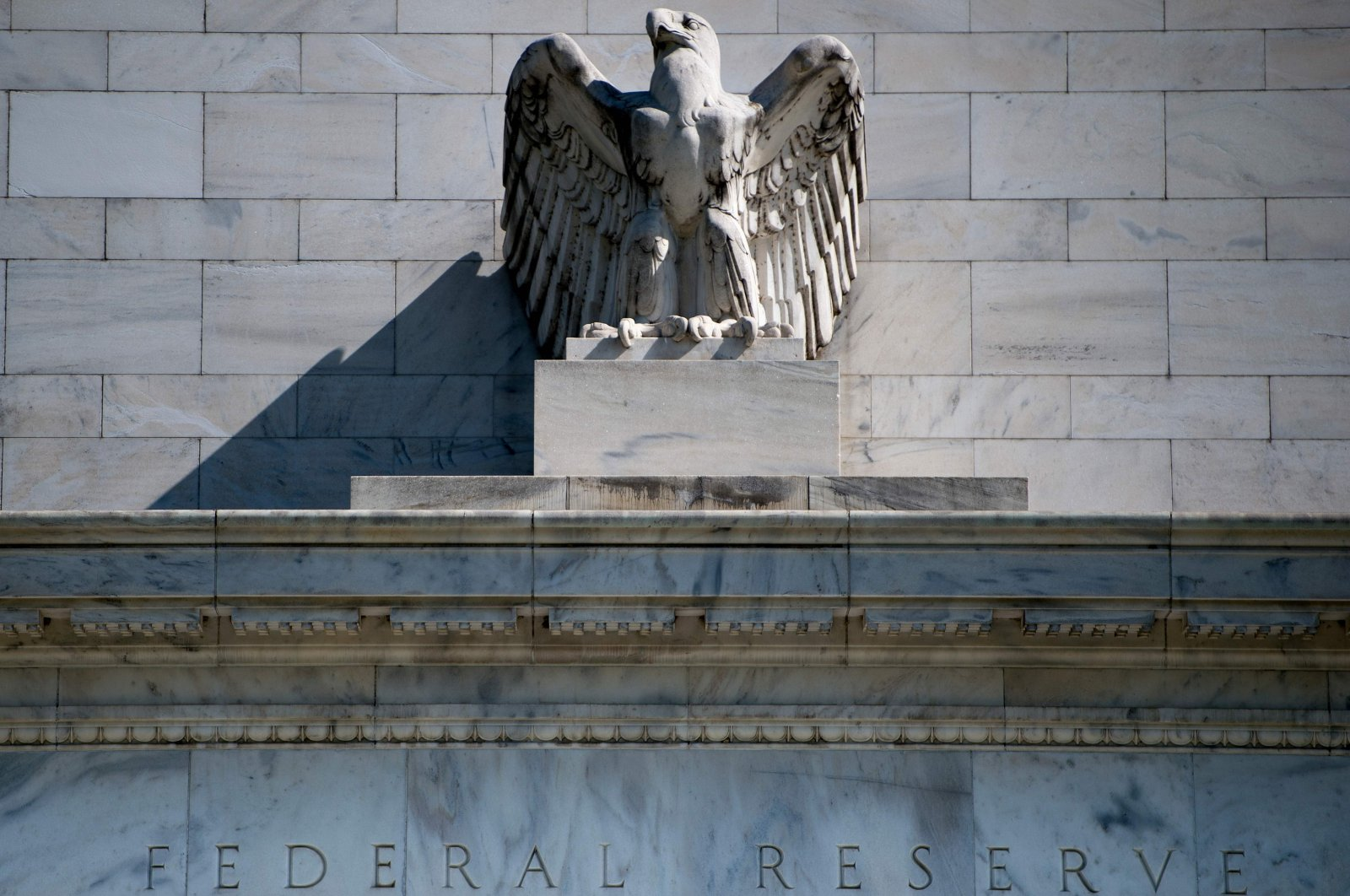 In this file photo taken on May 2, 2018 a view of the Federal Reserve building is seen in Washington, DC. (AFP Photo)