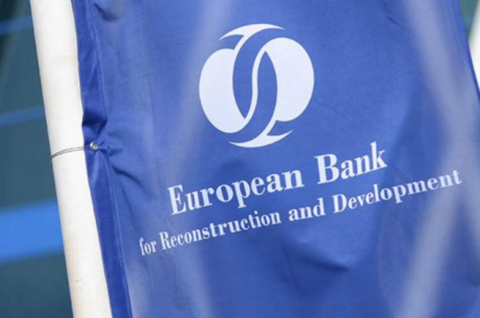 The European Bank for Reconstruction and Development (EBRD) logo is seen in this photo taken April 27, 2019. (File Photo)