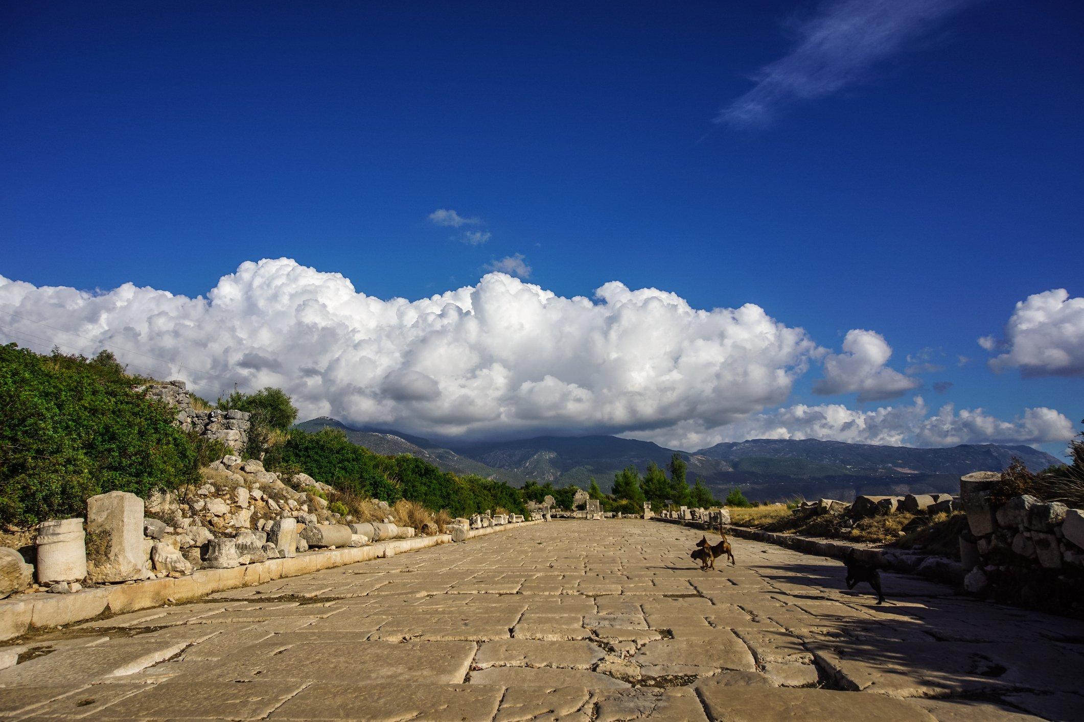 Xanthos était autrefois la capitale de la Lycie et célèbre pour ses marbres.  (Photo iStock)